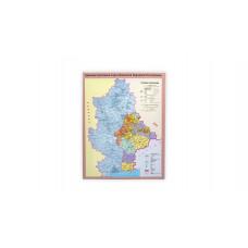 Карта ДНР А3