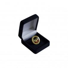 Значок с гербом ДНР в подарочной упаковке