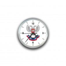 Часы настенные с гербом ДНР