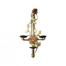 Кованный меч с розой и гербом Донецка