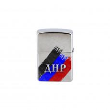 Зажигалка ZIPPO с флагом ДНР