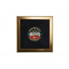 Значок круглый с гербом ДНР