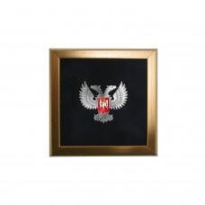 Значок с гербом ДНР